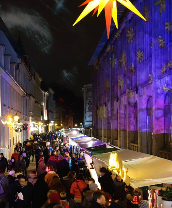Weihnachtsmarkt Sophienstraße